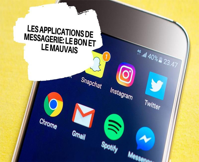 Les Applications de messagerie