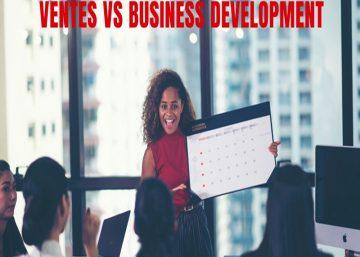 Ventes vs Business Development